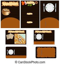 Restaurant stationary