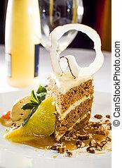 Restaurant Style Dessert