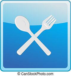 restaurant symbol icon