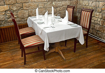 restaurant table 3