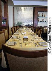 Restaurant table ..