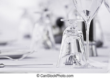 Restaurant table setting & Standard table setting of hotel restaurant stock photo stock image ...