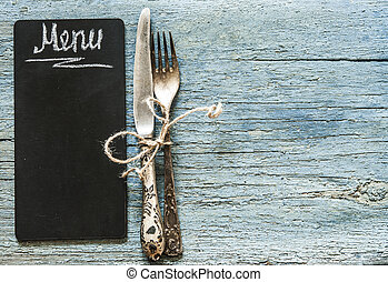 restaurante, café, menú, plantilla, design., alimento, aviador