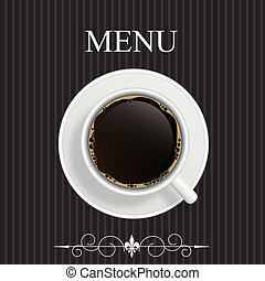 restaurante, menu, coffeehouse, café, barzinhos