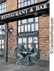 restaurante, noruega, oslo