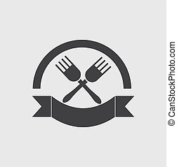 restaurante, símbolo