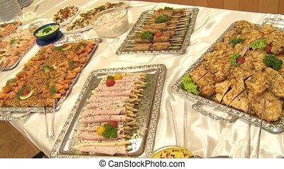 restauration, buffet
