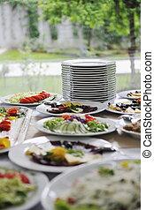 restauration, nourriture