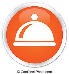 Restaurent orange button