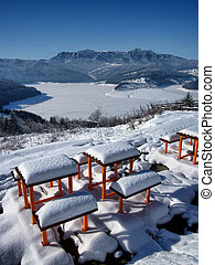 resting place in winter