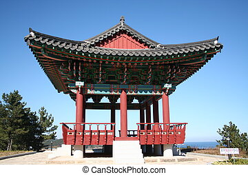 Resting Temple - A resting temple that overlooks the ocean