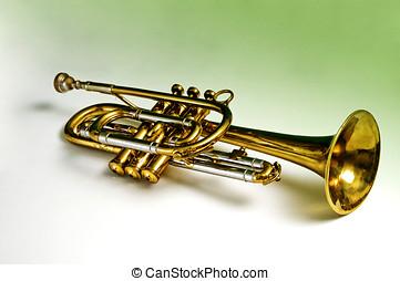 Resting trumpet