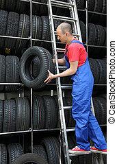 Restocking Tires