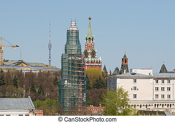Restoration of the bell tower