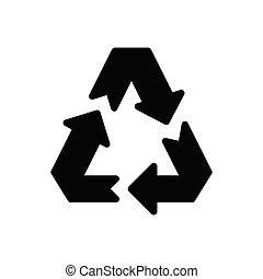 restore glyph flat icon