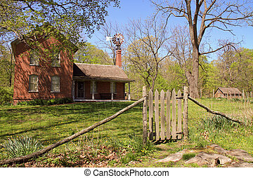 Restored 1850s farmhouse - Beautifully restored 1850s...