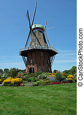 Restored windmill