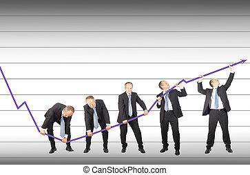 Restoring decreasing trend - Businessmen are joining the...