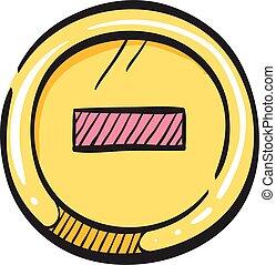 restricción, drawing., calle, advertencia, icono, parada, camino, dirección, color, señal
