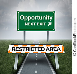 Restricted Opportunity - Restricted opportunity concept and...