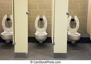 restroom, 公衆