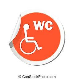 Restroom icon.