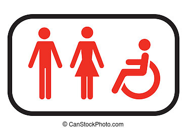 restroom logo