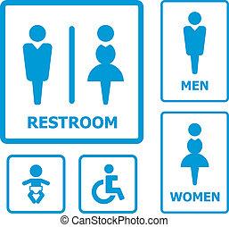 Restroom set