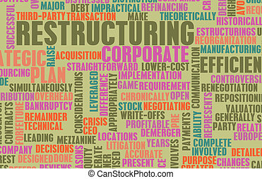 Restructuring and Downsizing in a Company Concept
