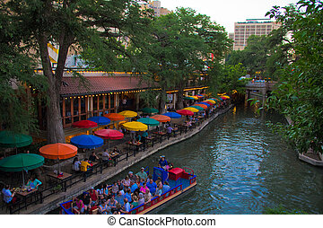 Colorful Mexican Resturant by the San Antonio River