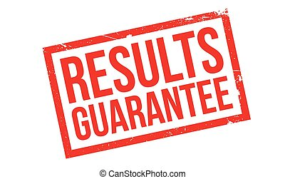 Results Guarantee rubber stamp