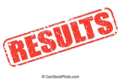 RESULTS red stamp text