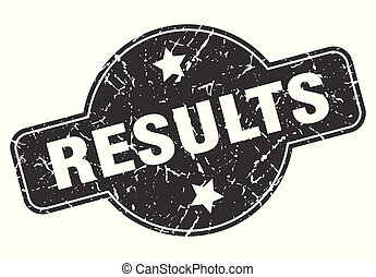 results round grunge isolated stamp