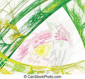 resumé umění, barva, pozadí