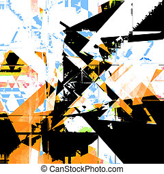 resumé umění, grafické pozadí