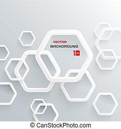 resumen, 3 d, diseño, geométrico