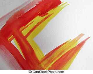 resumen, acuarela, pintado, plano de fondo