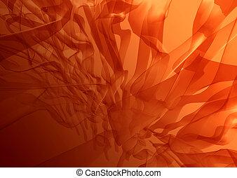 resumen, alga, rojo