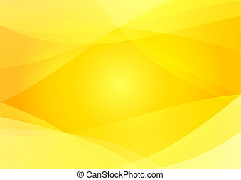 resumen, amarillo, y, fondo anaranjado, papel pintado