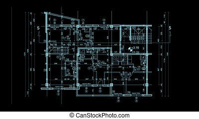 resumen, arquitectura, cianotipo