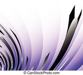 resumen, arte digital, plano de fondo, en, purple.,...