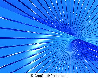 resumen, azul, brillante, pauta línea, plano de fondo