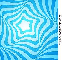 resumen, azul, diseño geométrico