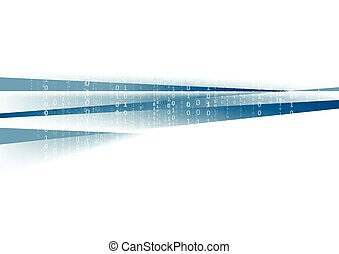 resumen, azul, tecnología, plano de fondo