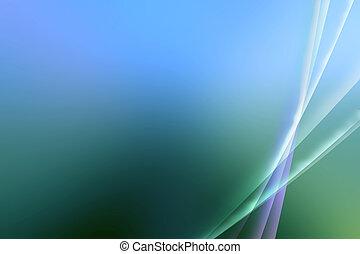 resumen, azul y verde, aurora, diseño