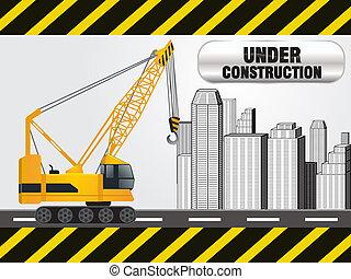 resumen, bajo construcción, plano de fondo