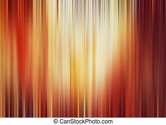 resumen, borroso, naranja, y, fondo amarillo, otoño