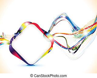 resumen, brillante, colorido, plano de fondo