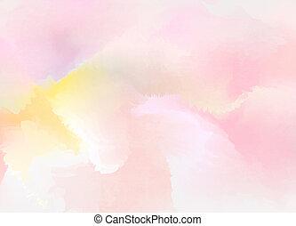 resumen, colorido, acuarela, para, fondo., arte digital,...