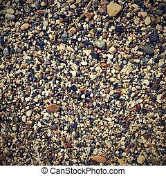 resumen, colorido, plano de fondo, con, pequeño, piedras